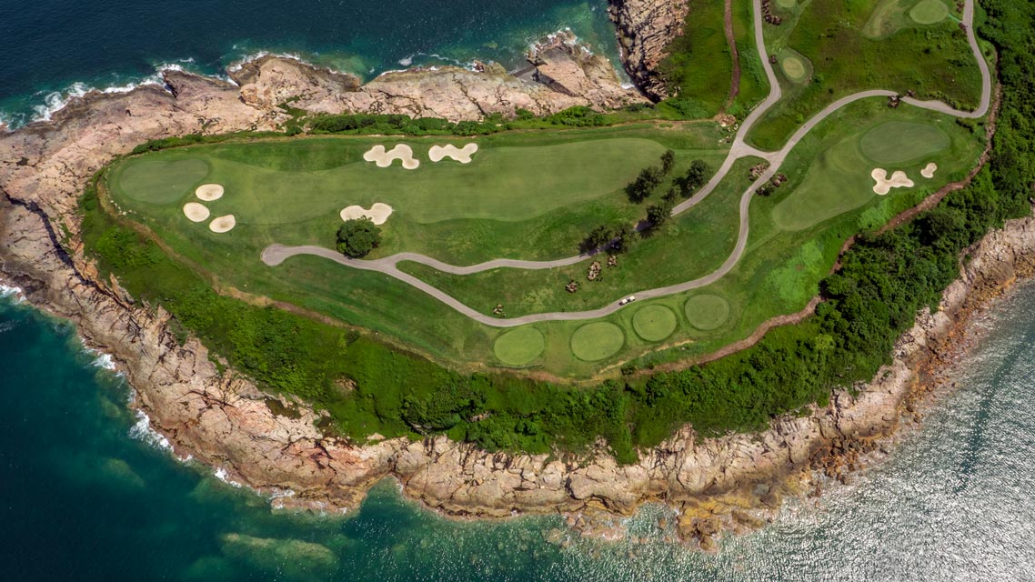 Clearwater Bay Holes 3 and 4